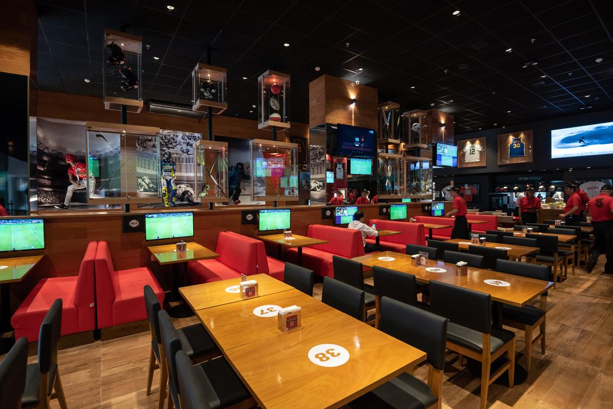 Five Sport Bar Inaugura Em Águas Claras