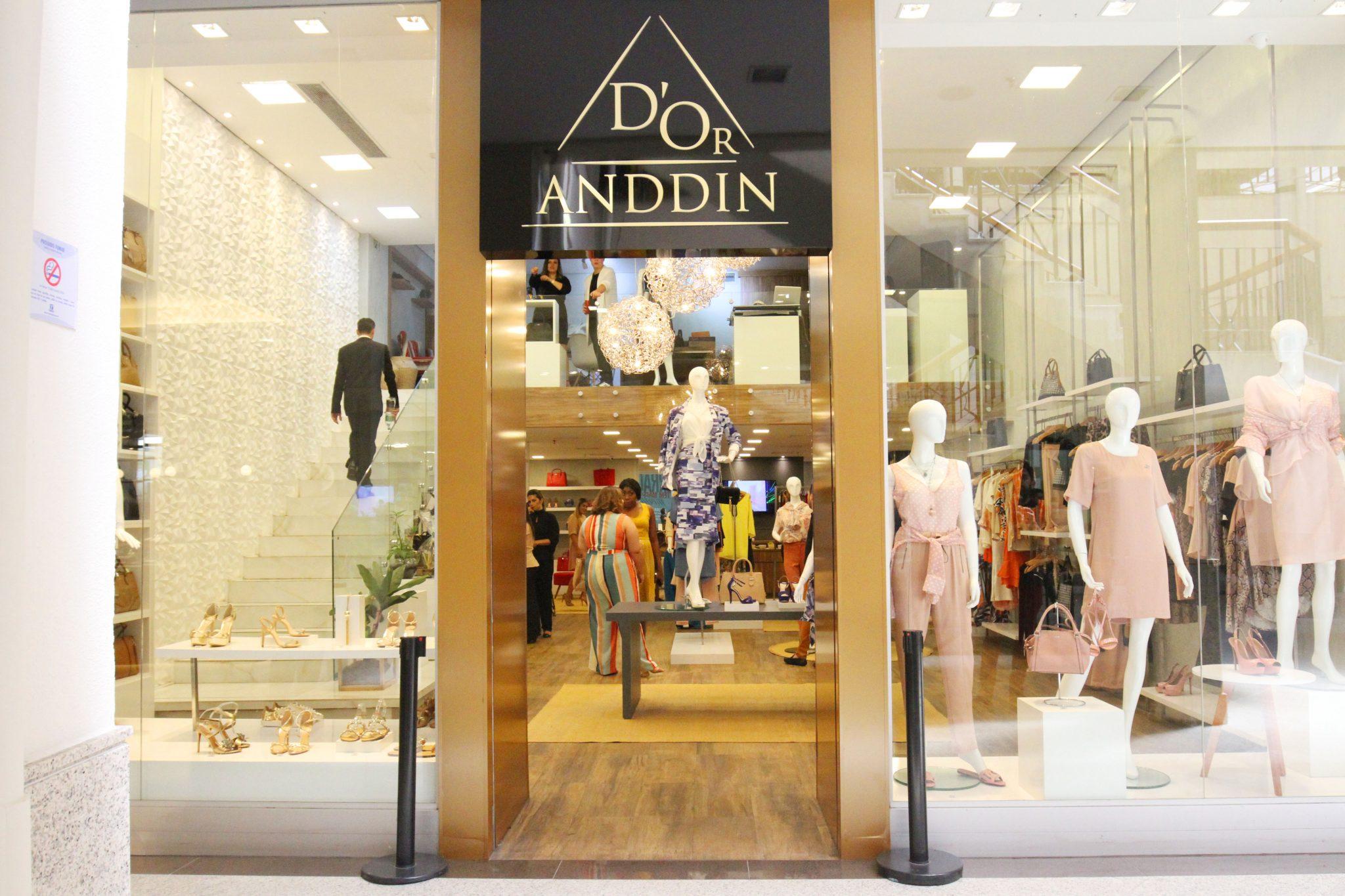 ea985d5ec Multimarcas D'Or Anddin inaugura no Terraço Shopping - Dicas da ...